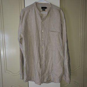 J. Crew 100% linen button down shirt